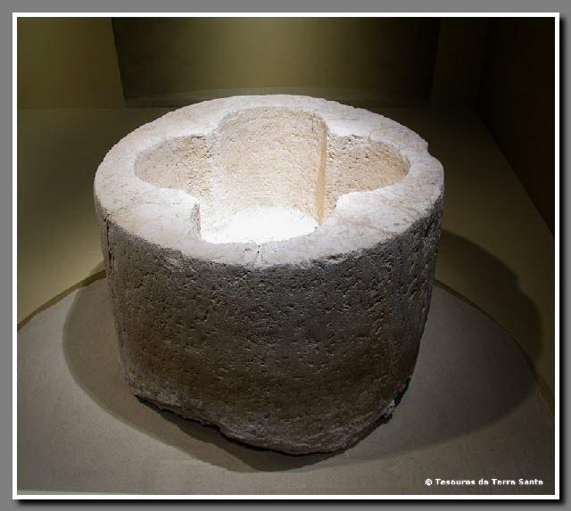 Período Bizantino - Pia Batismal Herodium